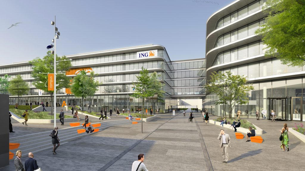 ING Head Office - projecten Poolster BV